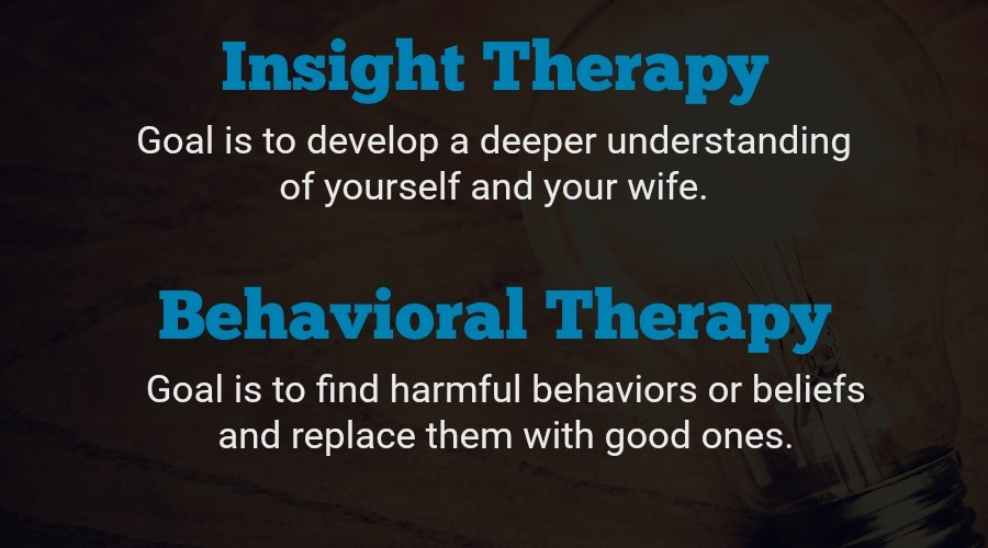 Insight vs behavioral therapy counselors